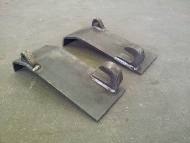 Hinken parts koppelhaken frontlader radlader anschweißkonsole