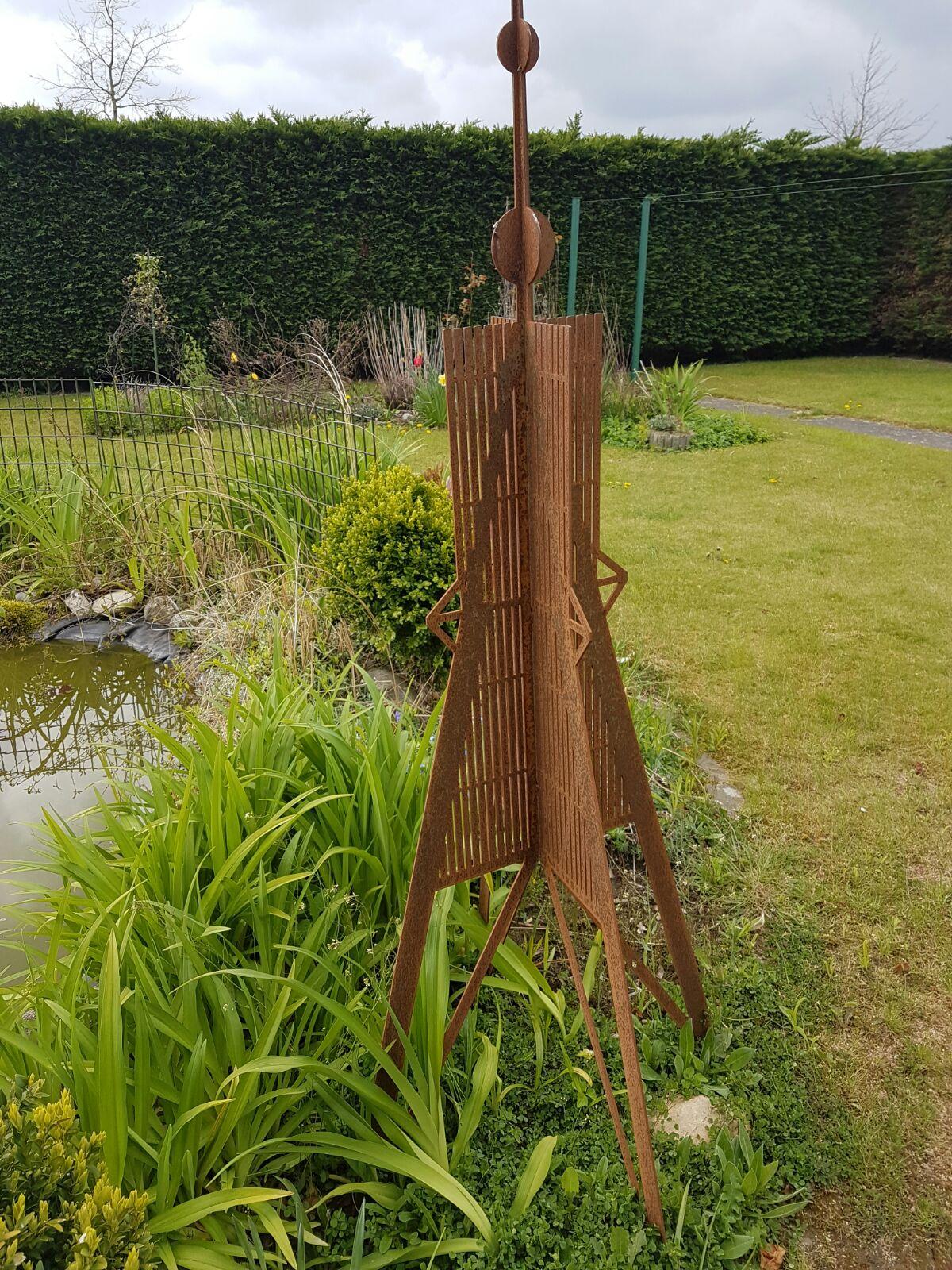 hinken-parts - kugelbake 150cm gartenskulptur gartenfigur aus, Garten ideen
